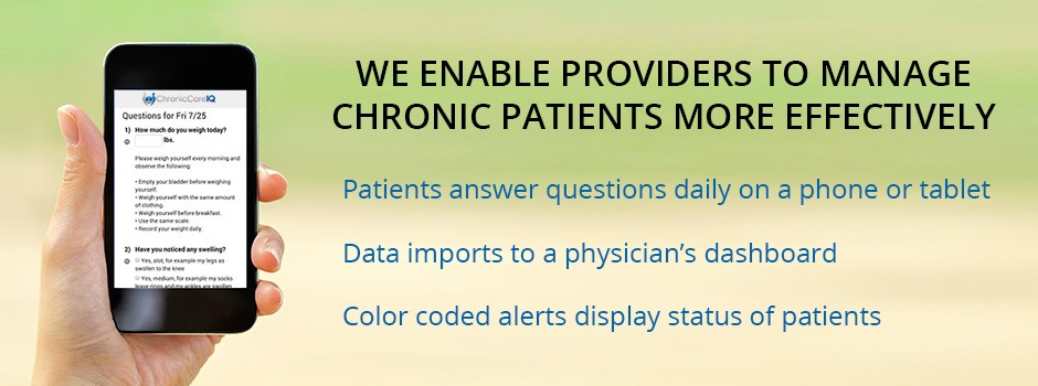 Remote Patient Monitoring with our Chronic Care Software
